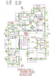 Gallery Cover Image of 1350 Sq.ft 3 BHK Apartment for buy in Garia for 4500000