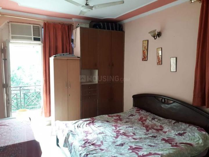 लाजपत नगर में लीना पीजी में बेडरूम की तस्वीर