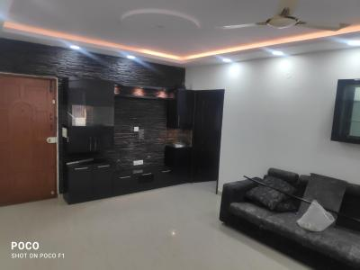 Gallery Cover Image of 1050 Sq.ft 2 BHK Apartment for rent in Sri Sri Residency, Kaggadasapura for 20000