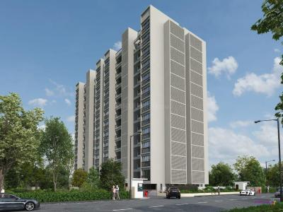 Building Image of 1038 Sq.ft 2 BHK Apartment for buy in Chordia Solitaire Homes Pashan, Pashan for 8000000