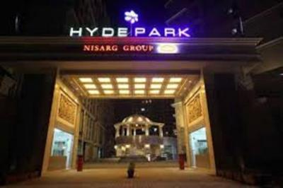 Gallery Cover Image of 1350 Sq.ft 3 BHK Apartment for rent in Nisarg Hyde Park, Kharghar for 27000