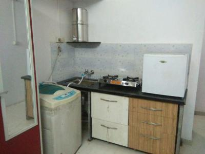 Kitchen Image of Silver Enclave PG in Prabhadevi