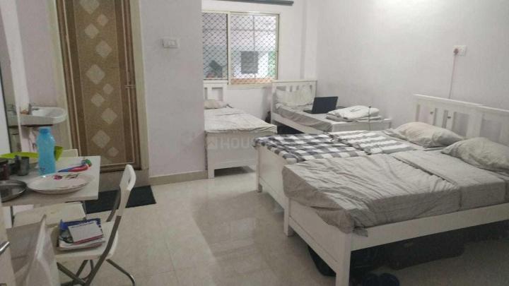 मधापुर में भावना पीजी में बेडरूम की तस्वीर
