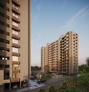Gallery Cover Image of 1050 Sq.ft 2 BHK Apartment for buy in Shela for 2677000