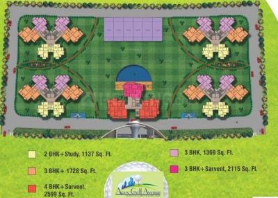Gallery Cover Image of 1188 Sq.ft 2 BHK Apartment for buy in Apex Golf Avenue, Noida Extension for 4000000