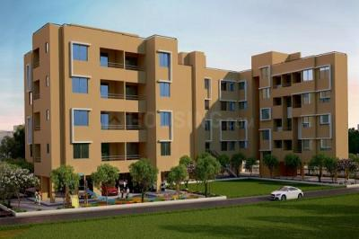 Gallery Cover Image of 606 Sq.ft 1 BHK Apartment for buy in Goel Ganga Antra, Kharadi for 4017796