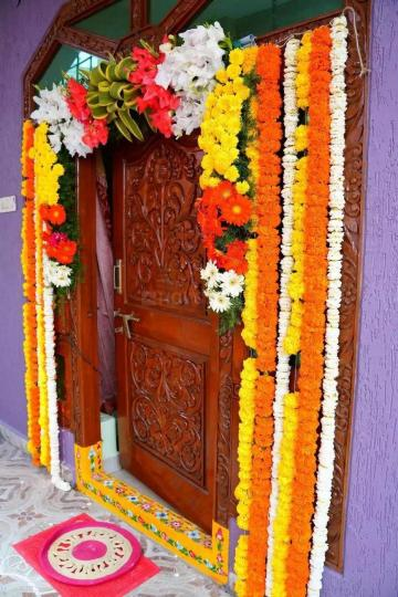 Main Entrance Image of 1500 Sq.ft 2 BHK Independent House for rent in Mayflower Heights, Mallapur for 11000