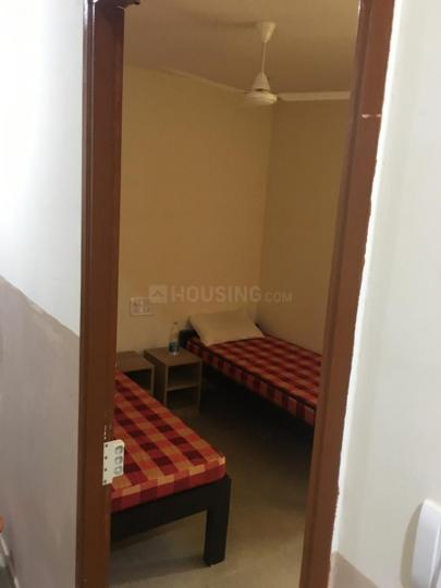 Bedroom Image of Annapoorneshwari Comforts PG in Jayanagar