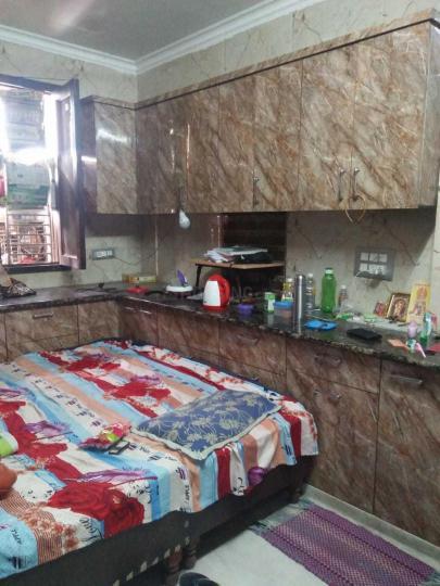 मुखर्जी नगर में स्टूडेंट्स होम में बेडरूम की तस्वीर