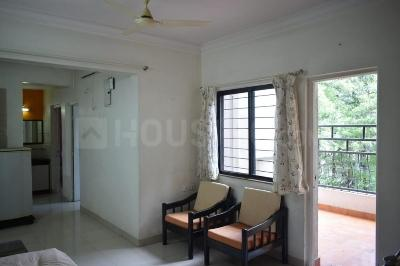 Gallery Cover Image of 1000 Sq.ft 2 BHK Apartment for rent in Goel Ganga Orchard, Mundhwa for 25000