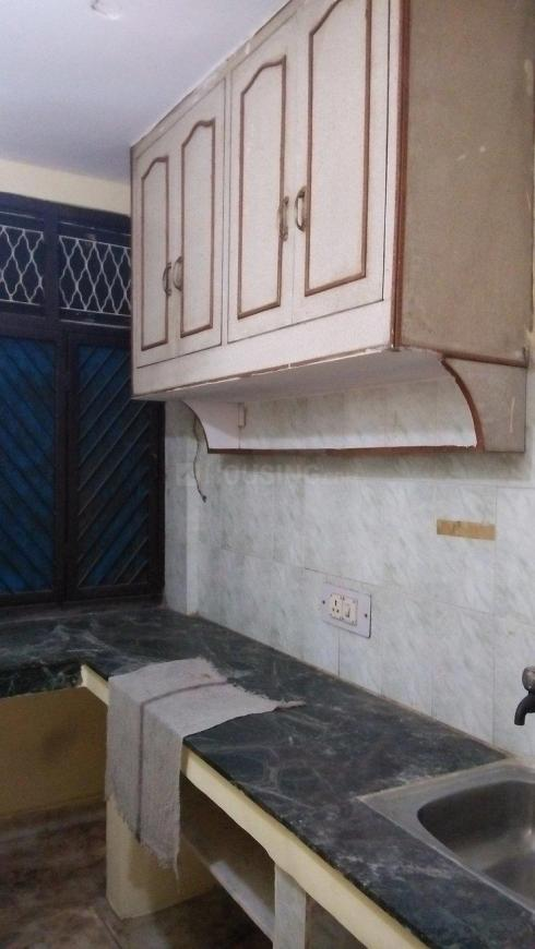 Kitchen Image of 550 Sq.ft 1 BHK Independent Floor for rent in Vaishali for 9000