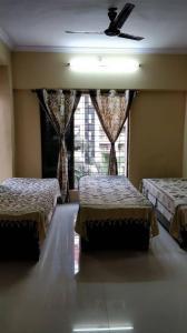 Bedroom Image of Rs PG in Kopar Khairane