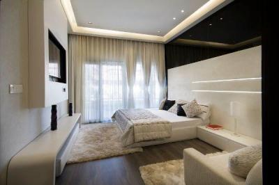 Gallery Cover Image of 725 Sq.ft 1 RK Apartment for buy in Sushma Chandigarh Grande, Gazipur for 2700000