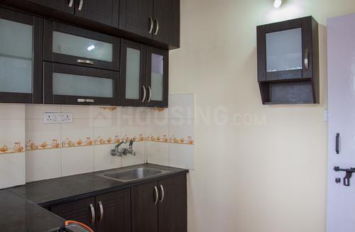 Kitchen Image of Celebrity Mansion Flat No.105, 1st Floor, in Mahadevapura