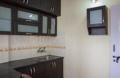 Kitchen Image of Celebrity Mansion Flat No.105, 1st Floor, in Mahadevapura