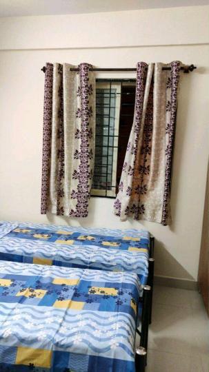 मुरुगेश्पल्य में एसएलएन लक्ज़री पीजी फॉर वूमेन के बेडरूम की तस्वीर