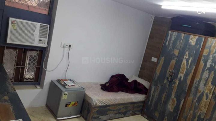 कमला नगर में कुरकिट हाउस के बेडरूम की तस्वीर