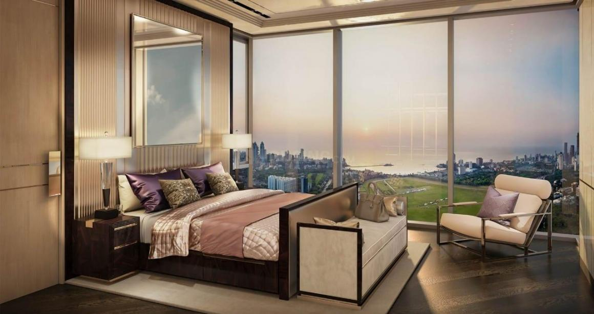 Bedroom Image of 1632 Sq.ft 2 BHK Apartment for buy in Lower Parel for 39400000
