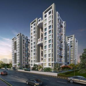 Gallery Cover Image of 1160 Sq.ft 2 BHK Apartment for buy in Moshi for 7245000