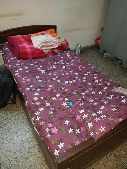 महिपालपुर में वसंत कुंज गर्ल्स पीजी में बेडरूम की तस्वीर