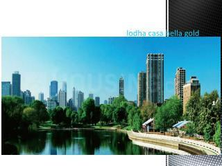 Gallery Cover Image of 594 Sq.ft 1 BHK Apartment for buy in Lodha Casa Bella, Palava Phase 1 Usarghar Gaon for 3300000