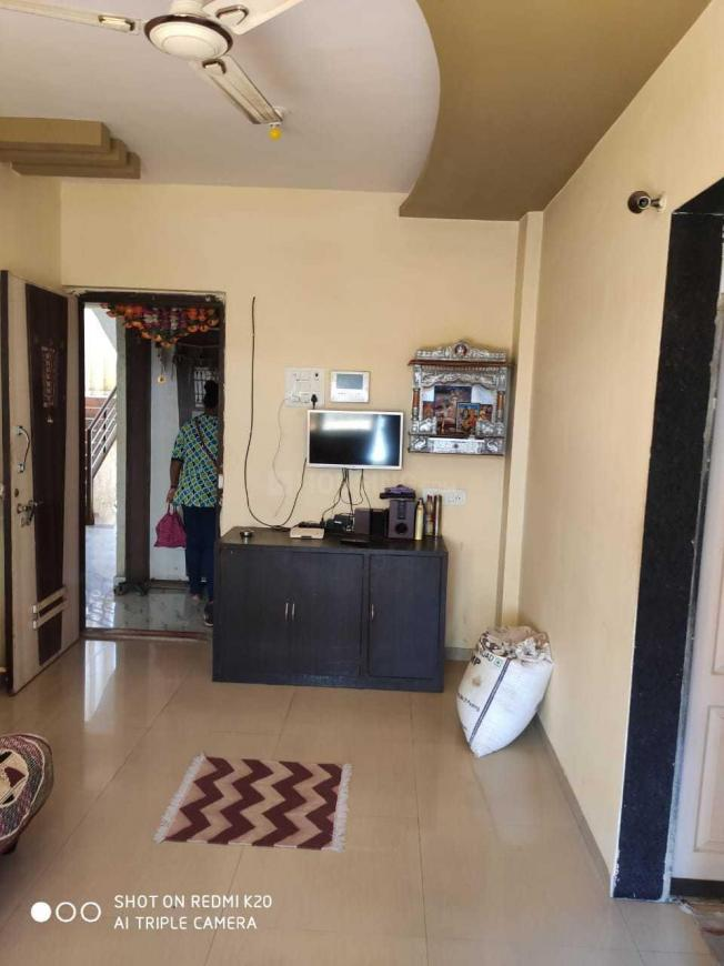 Living Room Image of 610 Sq.ft 1 BHK Apartment for rent in Vasai East for 8000