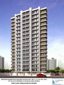 Gallery Cover Image of 1250 Sq.ft 3 BHK Apartment for rent in Diamond Garden, Chembur for 75000