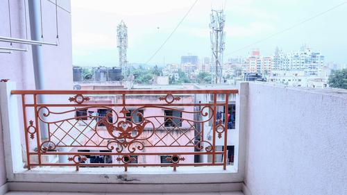 Balcony Image of 604 A Spring Bloom Apartment in Ghorpadi