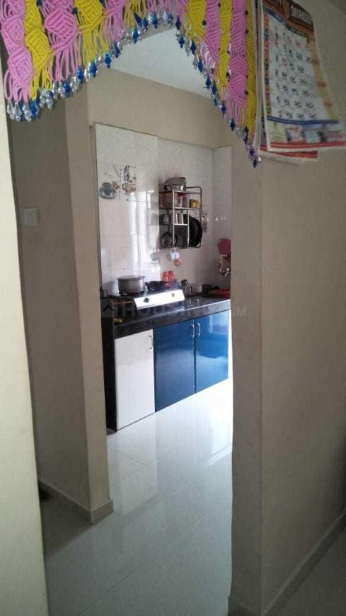 Kitchen Image of 720 Sq.ft 1 BHK Apartment for rent in Kon gaon for 10500
