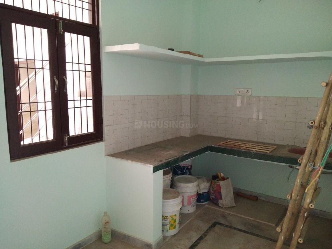 Kitchen Image of 516 Sq.ft 1 BHK Independent Floor for buy in Chipiyana Buzurg for 1051250