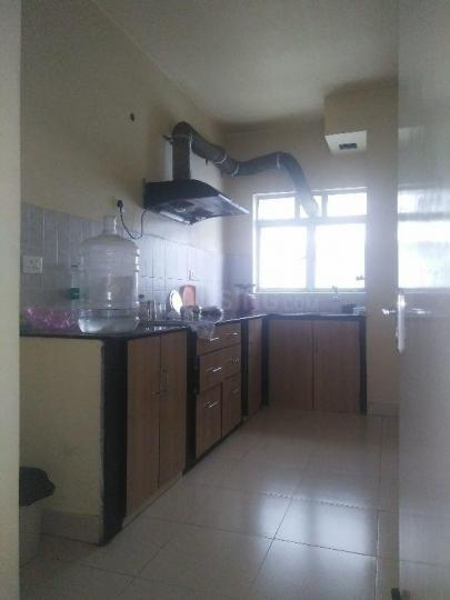 Kitchen Image of 1528 Sq.ft 3 BHK Apartment for rent in Space Club Town Greens, Belghoria for 19000