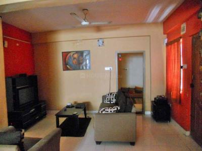 Gallery Cover Image of 1500 Sq.ft 3 BHK Apartment for rent in Sai Darshan, Krishnarajapura for 27000