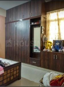 Gallery Cover Image of 650 Sq.ft 1 BHK Independent Floor for rent in Murugeshpalya for 16000