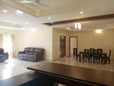 Gallery Cover Image of 1850 Sq.ft 3 BHK Apartment for rent in Koramangala for 110000
