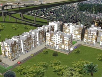 Gallery Cover Image of 1047 Sq.ft 3 BHK Apartment for buy in Jupiter Airport City I, Birati for 4700000
