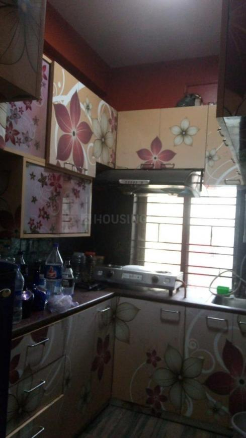 Kitchen Image of 500 Sq.ft 1 BHK Apartment for rent in Tollygunge for 10000