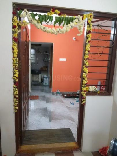 Main Entrance Image of 400 Sq.ft 1 BHK Independent House for rent in Laggere for 7000