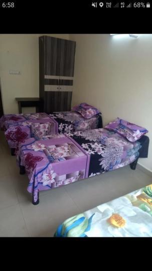 मुनेश्वरा नगर में श्री सिवनी पीजी फॉर जैंट्स में बेडरूम की तस्वीर