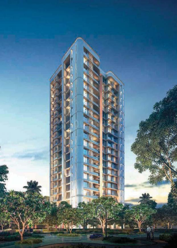 Building Image of 1225 Sq.ft 3 BHK Apartment for buy in Jogeshwari West for 21400000