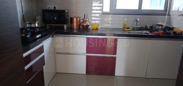 Kitchen Image of 2200 Sq.ft 3 BHK Apartment for rent in Hadapsar for 48000