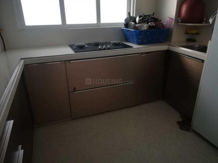 Kitchen Image of 780 Sq.ft 3 BHK Apartment for rent in Andheri West for 79000