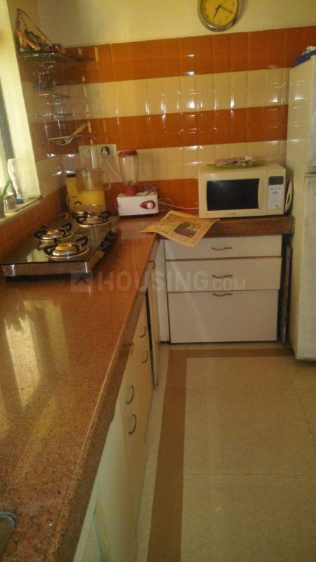Kitchen Image of 400 Sq.ft 1 RK Apartment for rent in Vashi for 18000