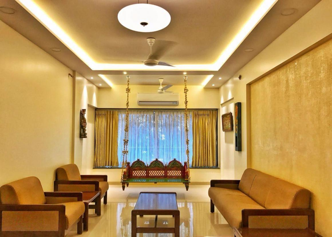 Living Room Image of 2000 Sq.ft 3 BHK Apartment for rent in Sector 12 Dwarka for 36000