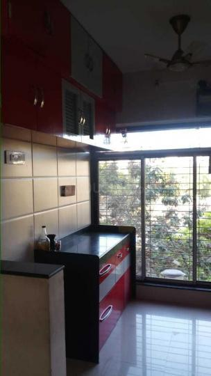 Kitchen Image of 620 Sq.ft 1 BHK Apartment for rent in Dahisar East for 17000