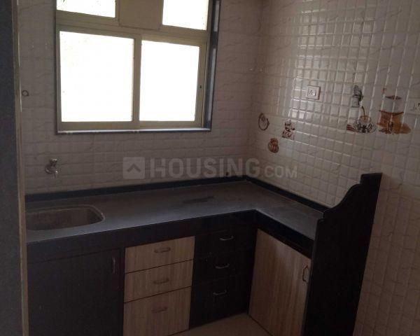 Kitchen Image of 600 Sq.ft 1 BHK Apartment for rent in Ghansoli for 12000