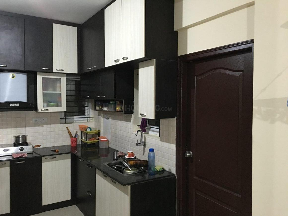 Kitchen Image of 1200 Sq.ft 2 BHK Apartment for rent in Basapura for 20000