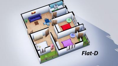 Gallery Cover Image of 1100 Sq.ft 3 BHK Apartment for buy in Sodepur for 3000000