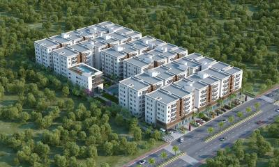 Gallery Cover Image of 1193 Sq.ft 2 BHK Apartment for buy in Bachupally for 5500000