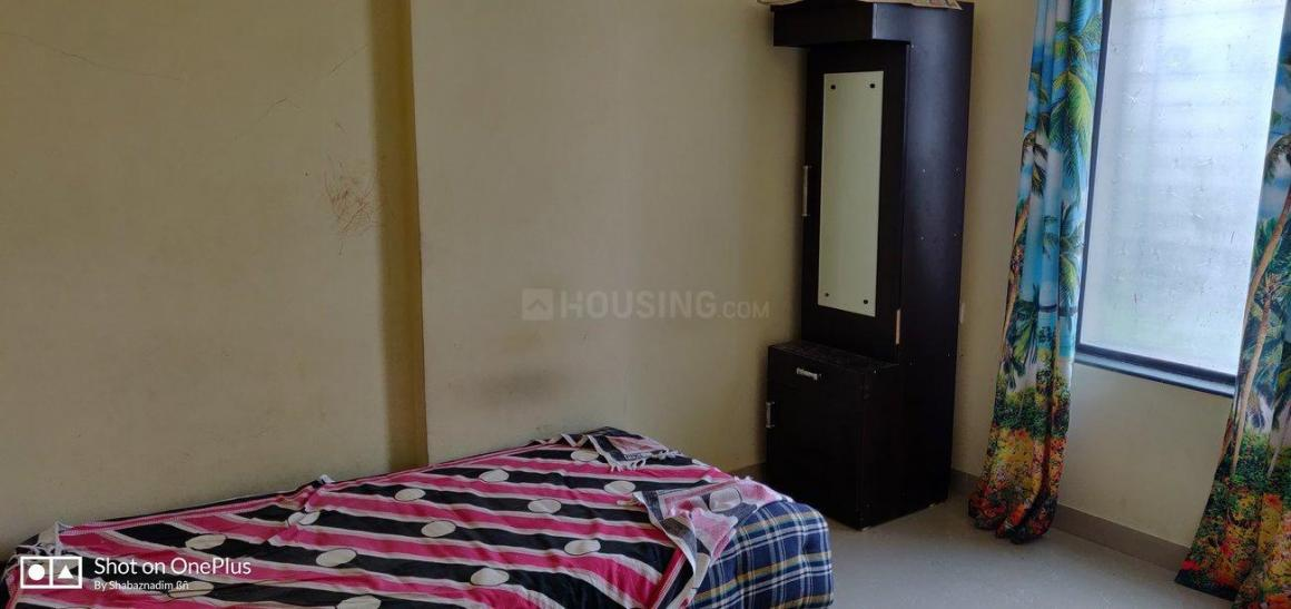 Bedroom Image of 1200 Sq.ft 2 BHK Apartment for rent in Kharadi for 28000