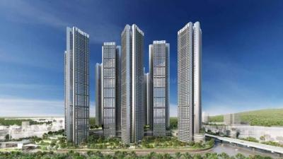 Gallery Cover Image of 1400 Sq.ft 3 BHK Apartment for buy in Oberoi Sky City Tower E, Borivali East for 35900000